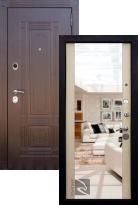 Входная дверь Кондор Мадрид с зеркалом (стальная дверь, металлическая дверь)