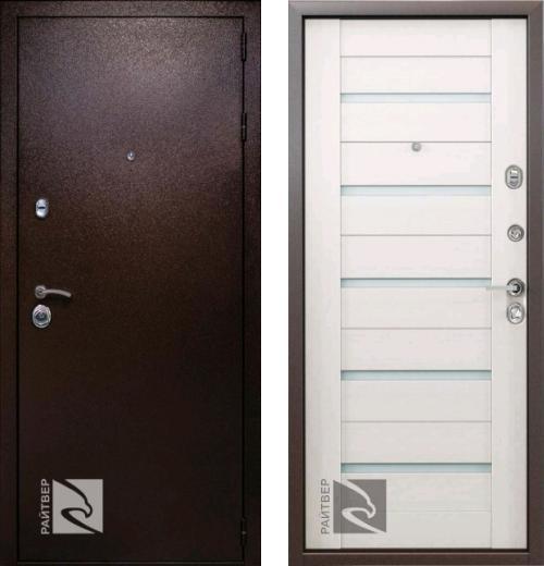 входные двери (стальные двери, металлические двери) DOORS007: дверь Кондор РАЙТВЕР Одиссей