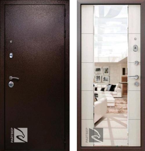 входные двери (стальные двери, металлические двери) DOORS007: дверь Кондор РАЙТВЕР Президент
