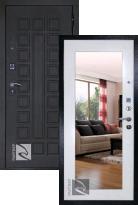 Входная дверь Кондор РАЙТВЕР Р-Сенат Life с зеркалом (стальная дверь, металлическая дверь)