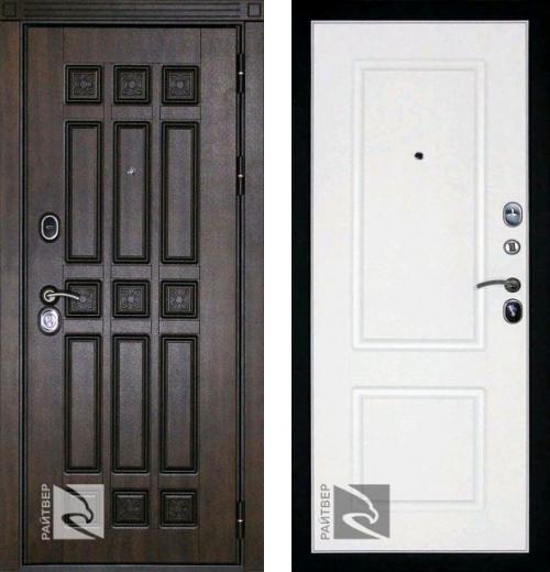 входные двери (стальные двери, металлические двери) DOORS007: дверь Кондор РАЙТВЕР Спарта