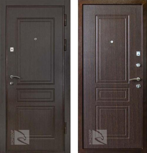 входные двери (стальные двери, металлические двери) DOORS007: дверь Кондор X1