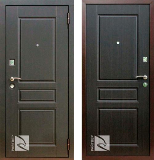 входные двери (стальные двери, металлические двери) DOORS007: дверь Кондор Райтвер X4