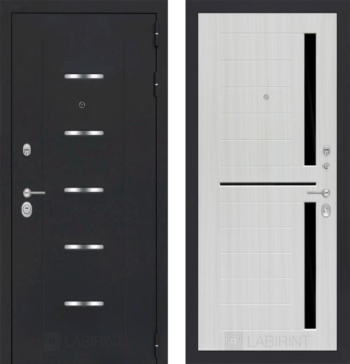 входные двери (стальные двери, металлические двери) DOORS007: дверь Labirint Alfa 02, Цвет