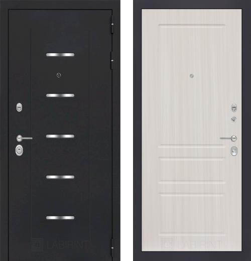 входные двери (стальные двери, металлические двери) DOORS007: дверь Labirint Alfa 03, Цвет