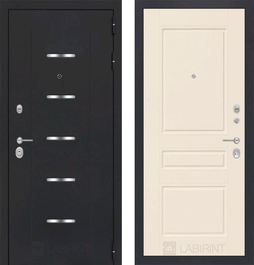 входные двери (стальные двери, металлические двери) DOORS007: дверь Labirint Alfa 03