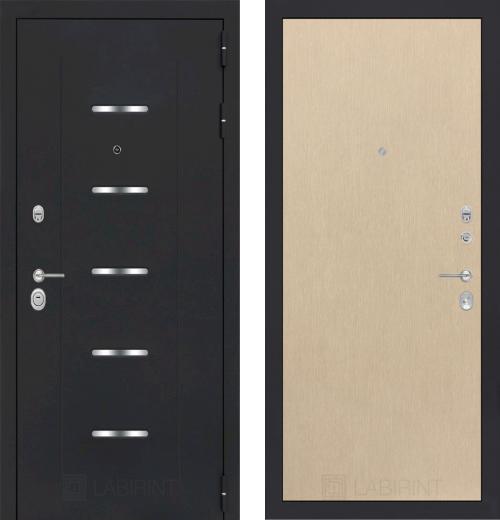 входные двери (стальные двери, металлические двери) DOORS007: дверь Labirint Alfa 05, Цвет
