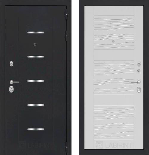 входные двери (стальные двери, металлические двери) DOORS007: дверь Labirint Alfa 06, Цвет