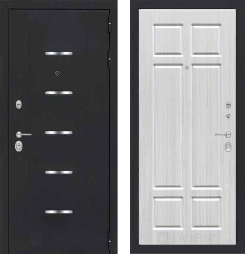 входные двери (стальные двери, металлические двери) DOORS007: дверь Labirint Alfa 08