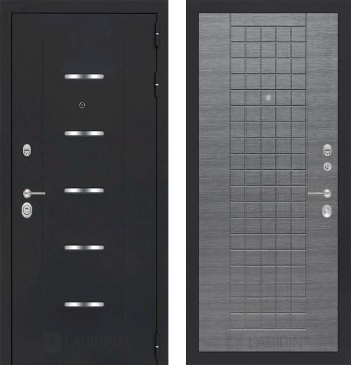 входные двери (стальные двери, металлические двери) DOORS007: дверь Labirint Alfa 09