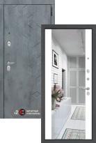 дверь Labirint Beton с зеркалом Максимум