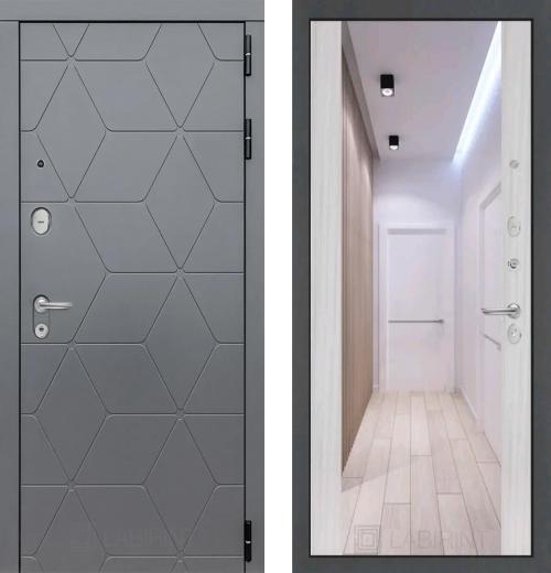 входные двери (стальные двери, металлические двери) DOORS007: дверь Labirint Cosmo с зеркалом Максимум, Цвет