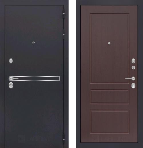 входные двери (стальные двери, металлические двери) DOORS007: дверь Labirint Line 03, Цвет