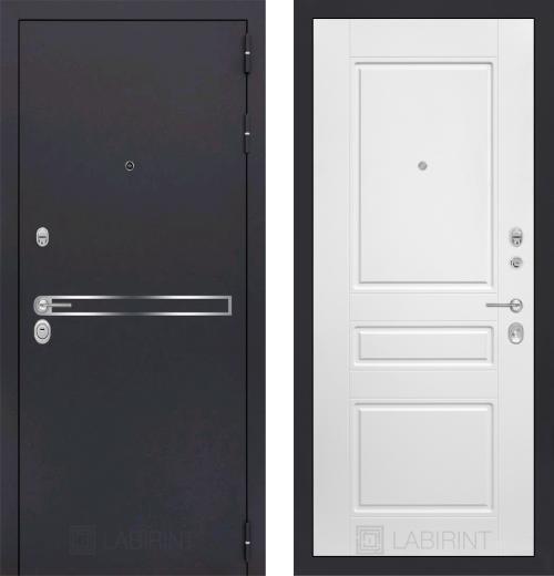 входные двери (стальные двери, металлические двери) DOORS007: дверь Labirint Line 03