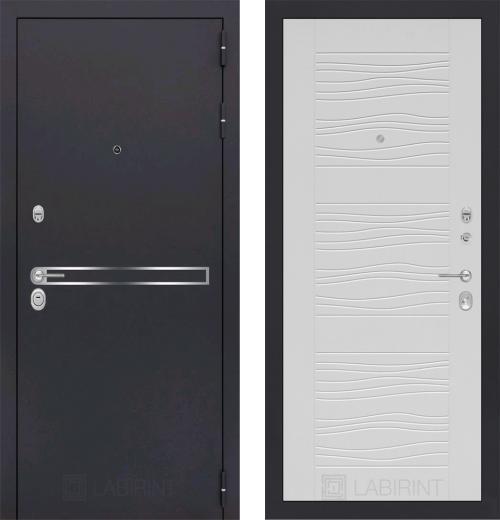 входные двери (стальные двери, металлические двери) DOORS007: дверь Labirint Line 06, Цвет