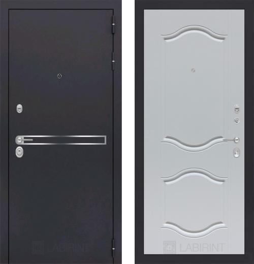 входные двери (стальные двери, металлические двери) DOORS007: дверь Labirint Line 07