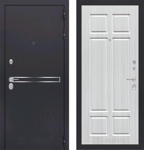входные двери (стальные двери, металлические двери) DOORS007: дверь Labirint Line 08