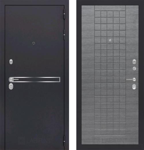 входные двери (стальные двери, металлические двери) DOORS007: дверь Labirint Line 09
