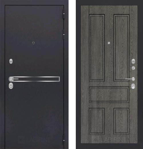 входные двери (стальные двери, металлические двери) DOORS007: дверь Labirint Line 10