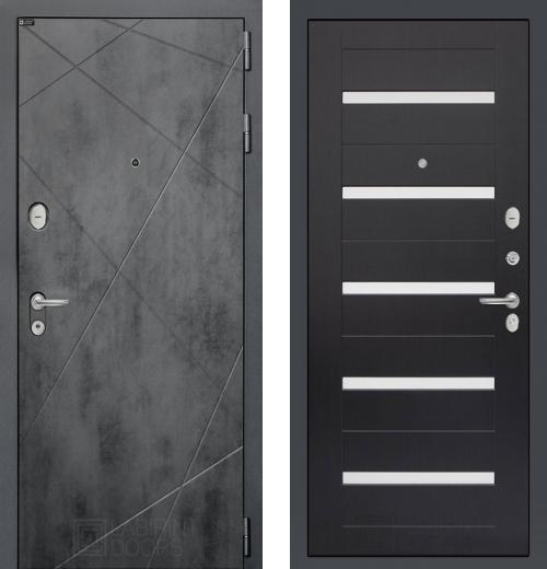 входные двери (стальные двери, металлические двери) DOORS007: дверь Labirint Loft 01, Цвет