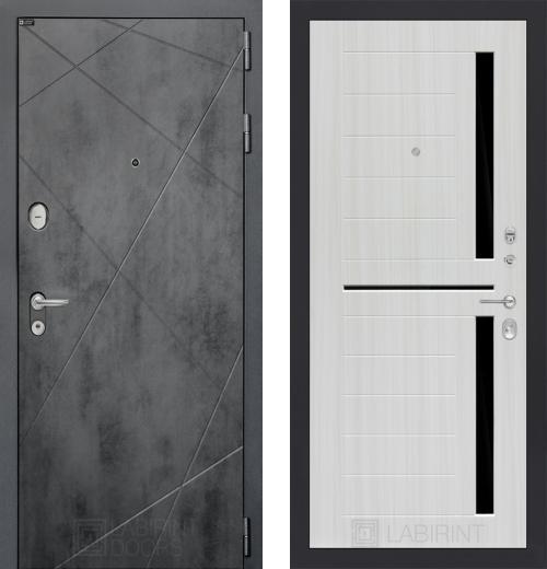 входные двери (стальные двери, металлические двери) DOORS007: дверь Labirint Loft 02, Цвет