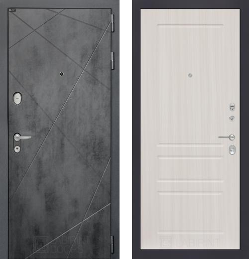 входные двери (стальные двери, металлические двери) DOORS007: дверь Labirint Loft 03, Цвет