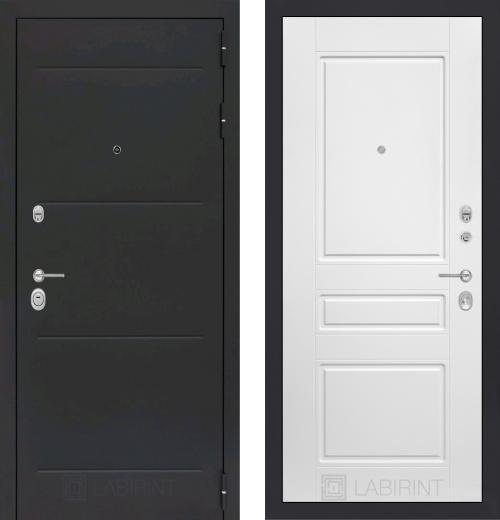 входные двери (стальные двери, металлические двери) DOORS007: дверь Labirint Loft 03