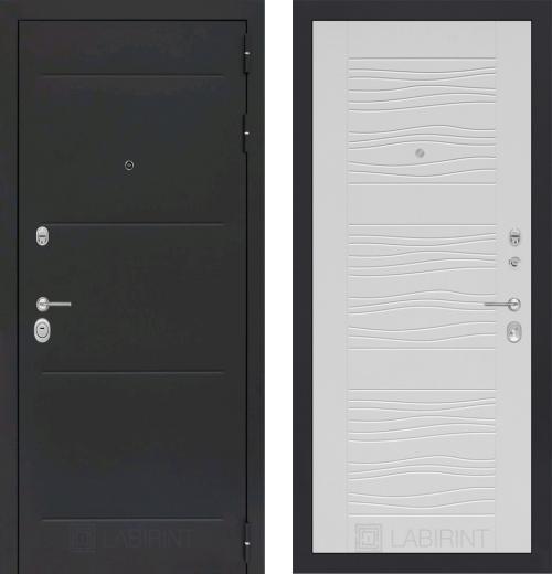 входные двери (стальные двери, металлические двери) DOORS007: дверь Labirint Loft 06, Цвет