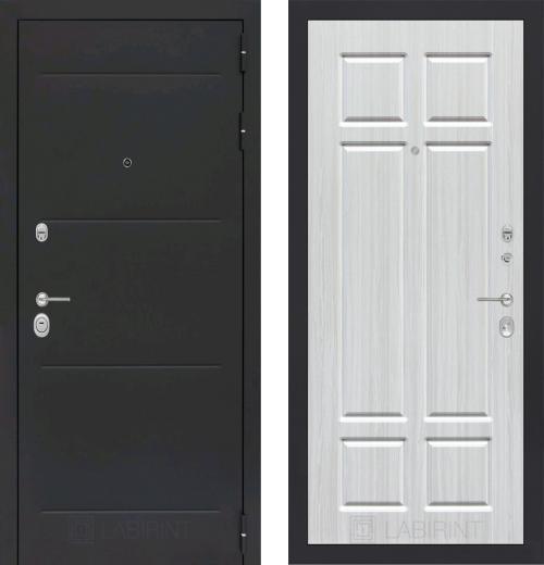 входные двери (стальные двери, металлические двери) DOORS007: дверь Labirint Loft 08