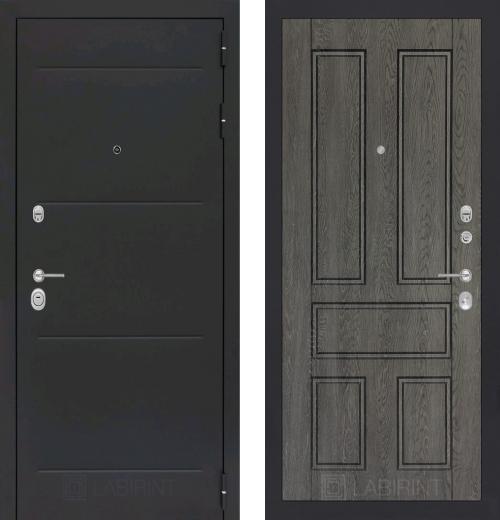 входные двери (стальные двери, металлические двери) DOORS007: дверь Labirint Loft 10