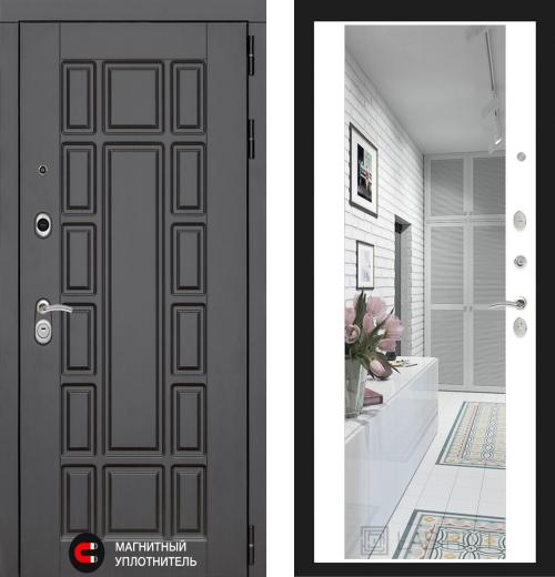 входные двери (стальные двери, металлические двери) DOORS007: дверь Labirint New York