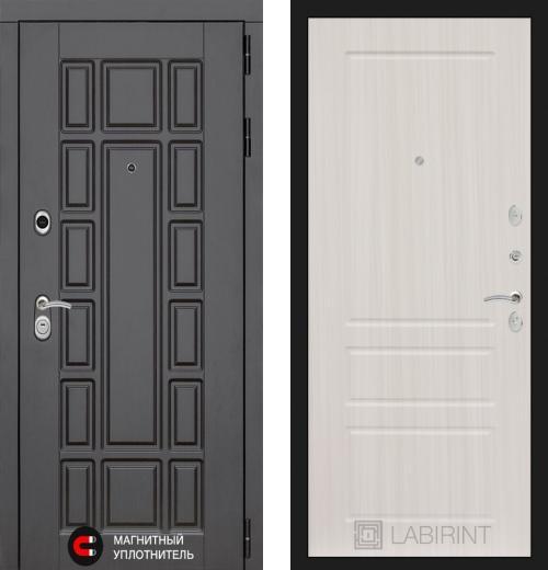 входные двери (стальные двери, металлические двери) DOORS007: дверь Labirint New York 03, Цвет