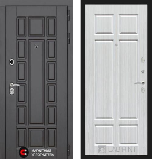входные двери (стальные двери, металлические двери) DOORS007: дверь Labirint New York 08