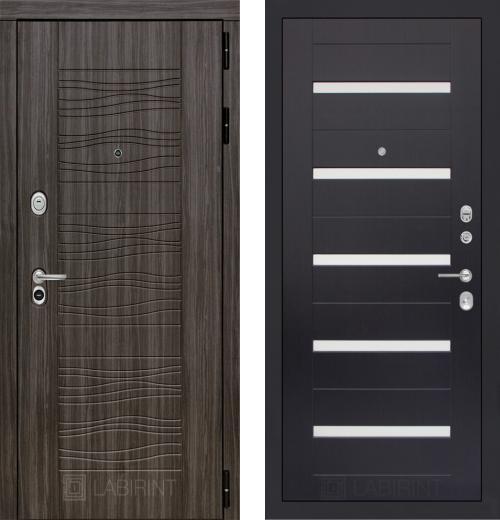 входные двери (стальные двери, металлические двери) DOORS007: дверь Labirint Scandi 01, Цвет