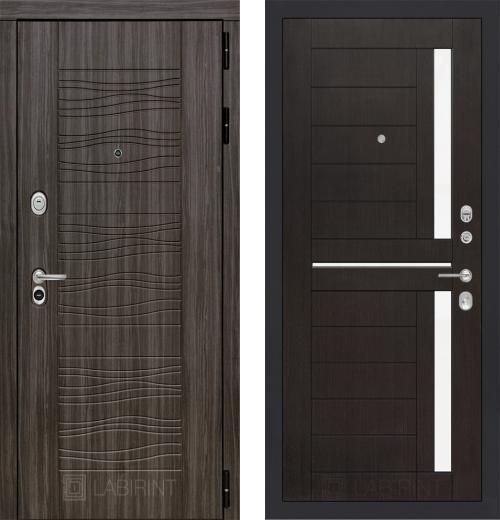 входные двери (стальные двери, металлические двери) DOORS007: дверь Labirint Scandi 02, Цвет
