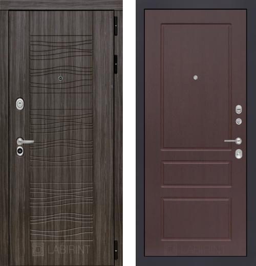 входные двери (стальные двери, металлические двери) DOORS007: дверь Labirint Scandi 03, Цвет