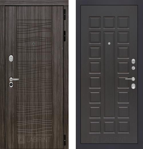 входные двери (стальные двери, металлические двери) DOORS007: дверь Labirint Scandi 04, Цвет