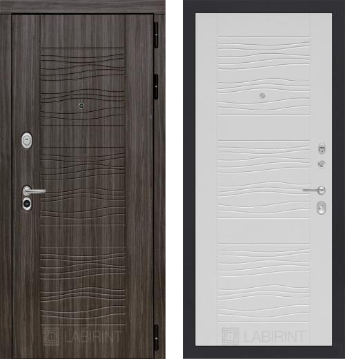 входные двери (стальные двери, металлические двери) DOORS007: дверь Labirint Scandi 06, Цвет