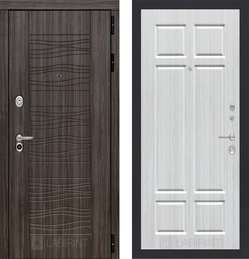 входные двери (стальные двери, металлические двери) DOORS007: дверь Labirint Scandi 08