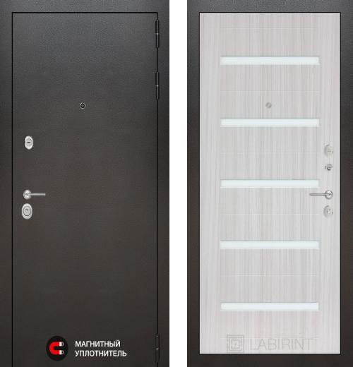 входные двери (стальные двери, металлические двери) DOORS007: дверь Labirint Silver 01, Цвет
