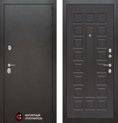 входные двери (стальные двери, металлические двери) DOORS007: дверь Labirint Silver 04, Цвет