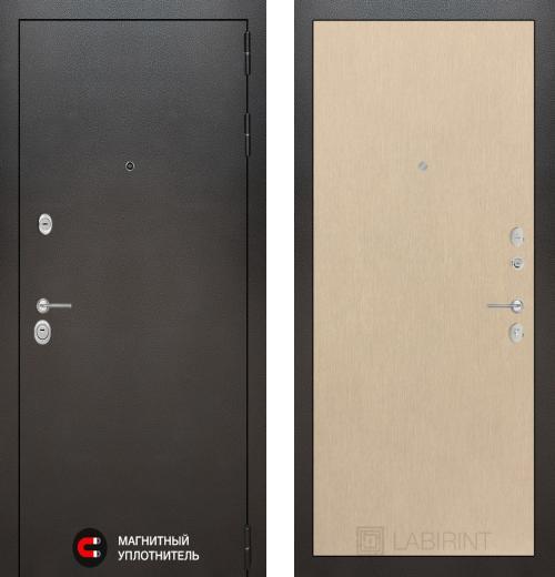 входные двери (стальные двери, металлические двери) DOORS007: дверь Labirint Silver 05, Цвет