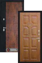 Стальная дверь Labirint Техно 17 (входная металлическая дверь)