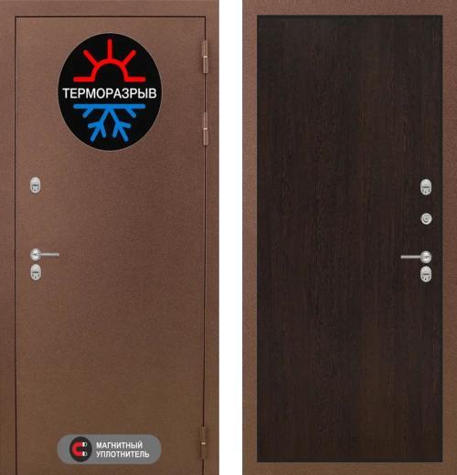 входные двери (стальные двери, металлические двери) DOORS007: дверь Labirint Термо Магнит 05, Цвет