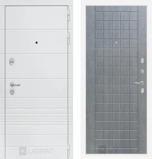 входные двери (стальные двери, металлические двери) DOORS007: дверь Labirint Trendo 09