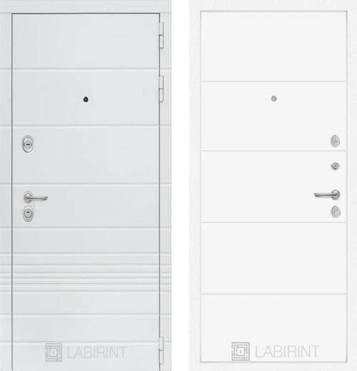 входные двери (стальные двери, металлические двери) DOORS007: дверь Labirint Trendo 13, Цвет