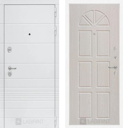 входные двери (стальные двери, металлические двери) DOORS007: дверь Labirint Trendo 15