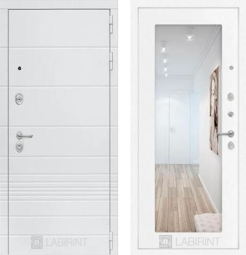 входные двери (стальные двери, металлические двери) DOORS007: дверь Labirint Trendo 18