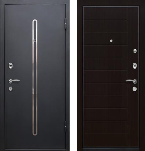 входные двери (стальные двери, металлические двери) DOORS007: дверь Ле-Гран БАЗА 57 «КЁЛЬН» Венге