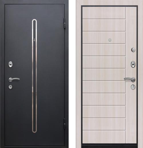 входные двери (стальные двери, металлические двери) DOORS007: дверь Ле-Гран БАЗА 57 «КЁЛЬН» Беленый дуб